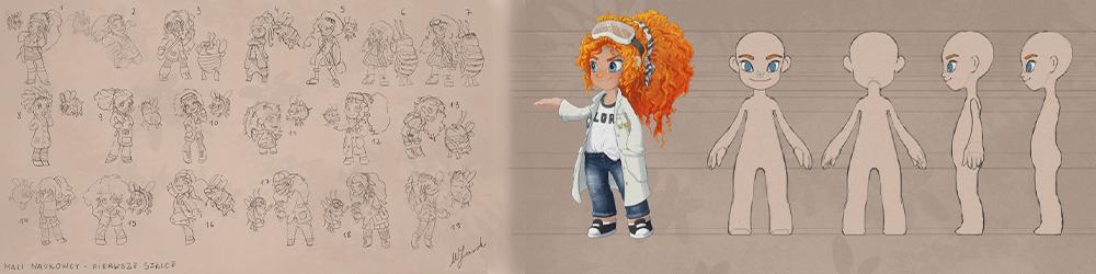 szkice do animacji - OMI Media House